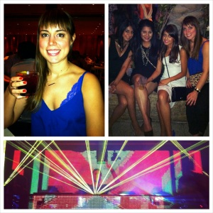Girls night out at The Cosmopolitan and Marquee